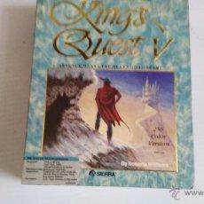 Videojuegos y Consolas: JUEGO PARA PC CAJA GRANDE DE CARTON KINGS QUEST V. Lote 52865488