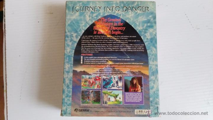 Videojuegos y Consolas: juego para pc caja grande de carton kings quest V - Foto 2 - 52865488