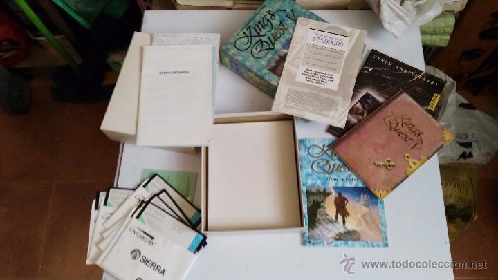 Videojuegos y Consolas: juego para pc caja grande de carton kings quest V - Foto 4 - 52865488