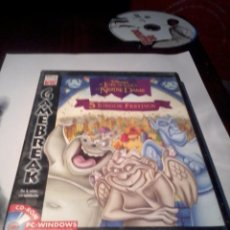 Videojuegos y Consolas: CD-ROM 5 JUEGOS FESTIVOS. EL JOROBADO DE NOTRE DAME. PC. . Lote 52874011