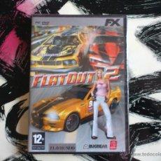 Videojuegos y Consolas: FLATOUT 2 - DVD PC - VIDEOJUEGO. Lote 52942532