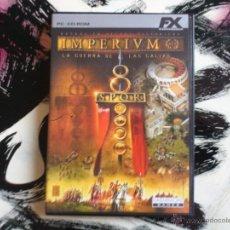 Videojuegos y Consolas: IMPERIVM RTS - LA GUERRA DE LAS GALIAS - PC CD ROM - EDICION ORO FX. Lote 52942618