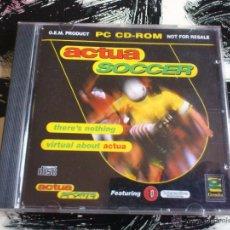 Videojuegos y Consolas: ACTUA SOCCER - PC CD ROM - VIDEOJUEGO - 1995. Lote 52942871
