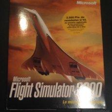 Videojuegos y Consolas: CAJA DEL JUEGO DE ORDENADOR PC MICROSOFT FLIGHT SIMULATOR 2000. Lote 52961452