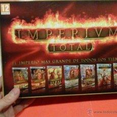 Videojuegos y Consolas: PC JUEGO IMPERIUM TOTAL. Lote 53061213