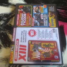 Videojuegos y Consolas: COLECCIÓN MICROMANIA Nº 31 -PC DVD - XIII -RAILROAD TYCOON-EDITOR ESCENARIOS WARHAMMER MARK OF CHAOS. Lote 53062554