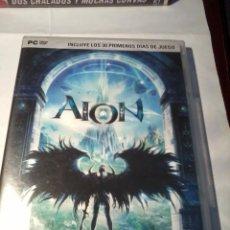 Videojuegos y Consolas: PC DVD. AION DOS DISCO.. Lote 53077429