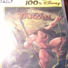 Videojuegos y Consolas: PC CD ROM. 100 DISNEY TARZAN. JUEGO DE ACCIÓN TOTALMENTE EN CASTELLANO.. Lote 53176251