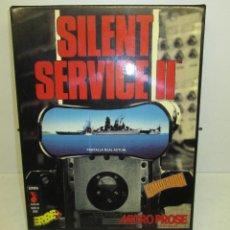 Videojuegos y Consolas: JUEGO PC SILENT SERVICE II - MICROPROSE - ERBE 1991 - CASTELLANO - CAJA GRANDE CARTÓN - SIMULADOR. Lote 53198676