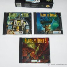 Videojuegos y Consolas: ALONE IN THE DARK DIE TRILOGIE PC GERMAN INFOGRAMES WINDOWS 95 , 98 , XP , XP PROFESSIONAL. Lote 53229128