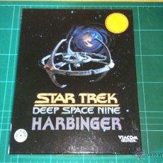 Videojuegos y Consolas: STAR TREK: DEEP SPACE NINE. HARBINGER. JUEGO PC. Lote 53299430