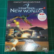 Videojuegos y Consolas: STAR TREK NEW WORLDS. JUEGO PC. Lote 53299491