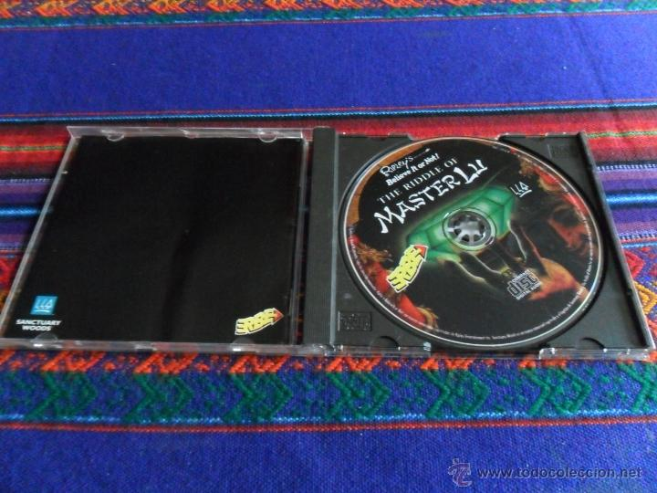 Videojuegos y Consolas: THE RIDDLE OF MASTER LU. JUEGO PC. 1995. SANCTUARY WOODS. - Foto 2 - 53350464