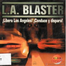 Videojuegos y Consolas: L. A. BLASTER. ¡LIBERA LOS ÁNGELES! ¡CONDUCE Y DISPARA!. Lote 53501487