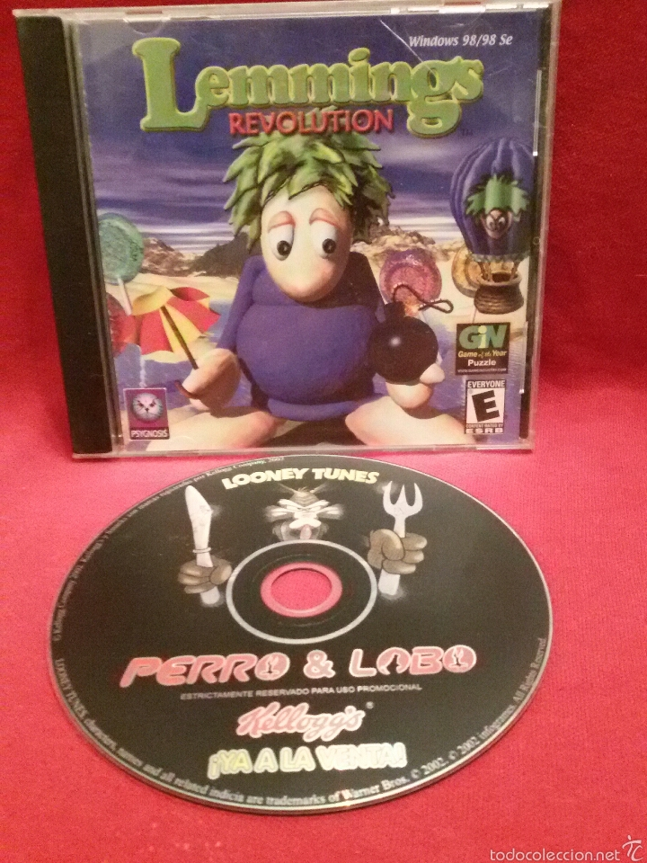 LEMMINGS REVOLUTION - PC CD-ROM #1060