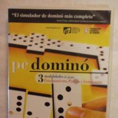 Videojuegos y Consolas: CDROM PC JUEGO DOMINO. EL SIMULADOR DE DOMINO MAS COMPLETO. 3 MODALIDADES.-----(REF M1 E1). Lote 53580710