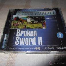 Videojuegos y Consolas: JUEGO BROKEN SWORD 2 PC. Lote 53585101