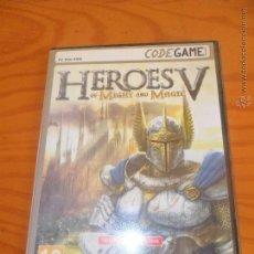 Videojuegos y Consolas: HEROES V OF MIGHT AND MAGIC - PC DVD ROM - CODEGAME EN CASTELLANO -. Lote 53633750