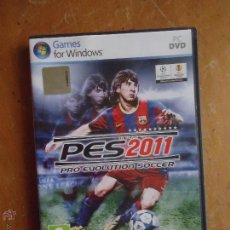 Videojuegos y Consolas: JUEGO PC DVD .GAMES FOR WINDOWS PES 2011 PRO EVOLUTION SOCCER KONAMI LIGA PROFESIONAL DE FUTBOL LFP. Lote 53677564