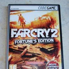 Videojuegos y Consolas: FARCRY 2 FORTUNE'S EDITION PC. Lote 53683748