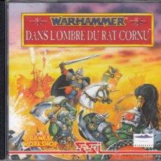Videojuegos y Consolas: CD-ROM. WARHAMMER. DANS L'OMBRE DU RAT CORNU. SONNEZ LA CHARGE, NOUS PARTONS EN GUERRE!. Lote 53726766