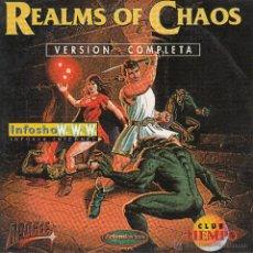 Videojuegos y Consolas: CD-ROM. REALMS OF CHAOS. ¡AYUDA A ENDRICK Y A ELANDRA A LIBERAR EL MUNDO DE MYSTERIA!. Lote 53726956
