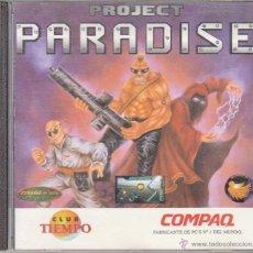 Videojuegos y Consolas: CD-ROM. PROJECT PARADISE. UN NUEVO RETO PARA LOS AFICIONADOS A LA ELIMINACIÓN.. Lote 53727106