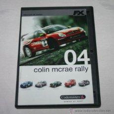 Videojuegos y Consolas: JUEGO DE PC COLIN MCRAE RALLY 04 - FX - PC DVD. Lote 60079690