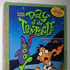 Videojuegos y Consolas: [SOLO CAJA] MANIAC MANSION: DAY OF THE TENTACLE [LUCASARTS] 1993 ERBE SOFTWARE [PC 3 1/2]. Lote 54374773
