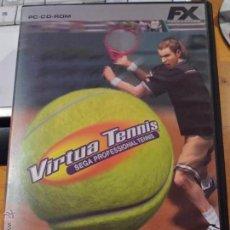 Videojuegos y Consolas: 'VIRTUA TENNIS - SEGA PROFESSIONAL TENNIS'. JUEGO COMPLETO PARA PC EN ESPAÑOL.. Lote 54417934
