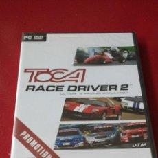 Videojuegos y Consolas: TOCA RACE DRIVER 2 PC DVD PROMOTIONAL COPY NUEVO PRECINTADO CODEMASTERS RACING SIMULATOR. Lote 54588966