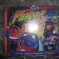 Videojuegos y Consolas: PINBALL MANIA, PC CD ROM. Lote 54682307