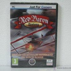 Jeux Vidéo et Consoles: RED BARON HYSTORY *** JUST FOR GAMES *** VIDEOJUEGO PC *** EN FRANCÉS *** PRECINTADO. Lote 54684706