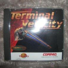 Videojuegos y Consolas: TERMINAL VELOCITY, JUEGO PARA PC CD ROM. Lote 54759362