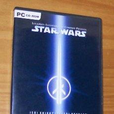Videojuegos y Consolas: STAR WARS. JEDI KNIGHT II: JEDI OUTCAST. JUEGO PC CD-ROM LUCAS ARTS. CAJA + CD + MANUAL. Lote 54843773