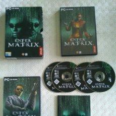 Videojuegos y Consolas: ENTER THE MATRIX PC (FUNDA CARTÓN) - FUNDA DE CARTÓN. Lote 54853708