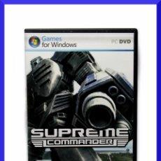 Videojuegos y Consolas: SUPREME COMMANDER / JUEGO PARA PC / PAL ESP. Lote 44808383