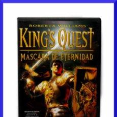 Videojuegos y Consolas: KINGS QUEST - MASCARA DE ETERNIDAD / JUEGO PARA PC / PAL ESP / COMPUTER HOY JUEGOS. Lote 44810738