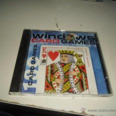 Videojuegos y Consolas: CD-ROM CAJA-22 CD WINDOWS CARD GAMES. Lote 54887294