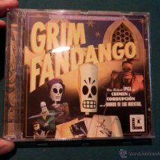 Videogiochi e Consoli: GRIM FANDANGO - JUEGO PC CD-ROM - LUCAS ARTS - CON DOS CD-ROM. Lote 54939739