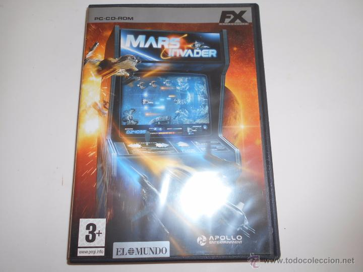 Mars Invader Windows 98 Me Xp Juego Pc Cd Rom Comprar Videojuegos
