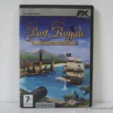 Videojuegos y Consolas: PORT ROYALE *** ORO, PODER Y PIRATAS *** JUEGO PC FX PLANET *** EN CASTELLANO . Lote 55001723