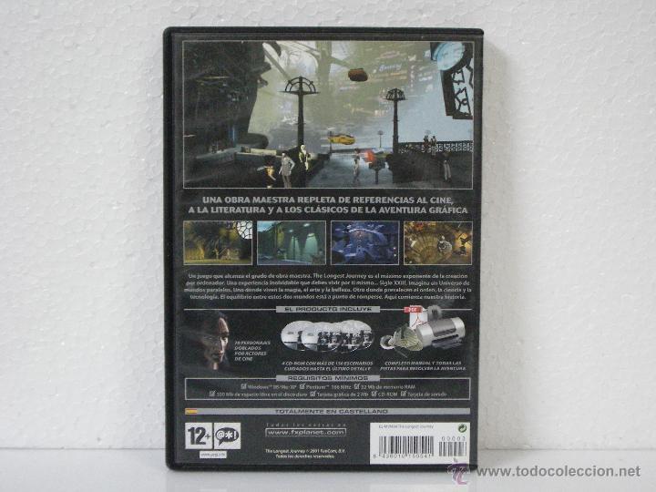 Videojuegos y Consolas: THE LONGEST JOURNEY *** JUEGO PC FX PLANET *** EN CASTELLANO - Foto 2 - 55001742