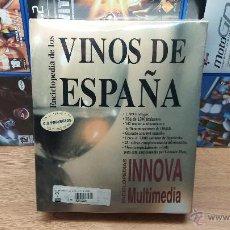 Videojuegos y Consolas: PROGRAMA PC-ENCICLOPEDIA DE LOS VINOS DE ESPAÑA MULTIMEDIA-PRECINTADO Y NUEVO. Lote 55035766