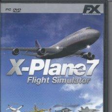 Videojuegos y Consolas: X- PLANE 7 FLIGHT SIMULATOR- CON MANUAL COMO NUEVO. Lote 55094794