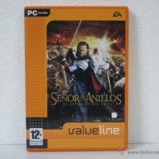 Videojuegos y Consolas: EL SEÑOR DE LOS ANILLOS (EL RETORNO DEL REY) *** JUEGO PC VALUE GAMES *** EN CASTELLANO. Lote 222638311