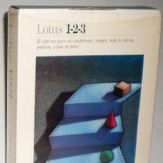 Videojuegos y Consolas: AMSTRAD LOTUS 1-2-3 HOJA DE CALCULO V.2.01 [LOTUS DEV.] [PC 3 1/2] IBM PC PHILIPS EDICION ESPAÑOLA. Lote 55147207