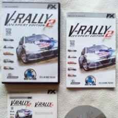 Videojuegos y Consolas: JUEGO PC - V-RALLY 2 - EXPERT EDITION. Lote 55235084