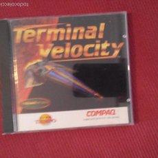 Videojuegos y Consolas: TERMINAL VELOCITY - COMBATE EN PLANETA ALIENÍGENA - JUEGO PC. Lote 55235098