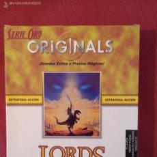 Videojuegos y Consolas: LORDS OF MAGIC - JUEGO DE ESTRATEGIA PC ORIGINAL - SIERRA. Lote 55235617